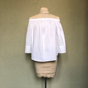 New York & Company Strapless Blouse